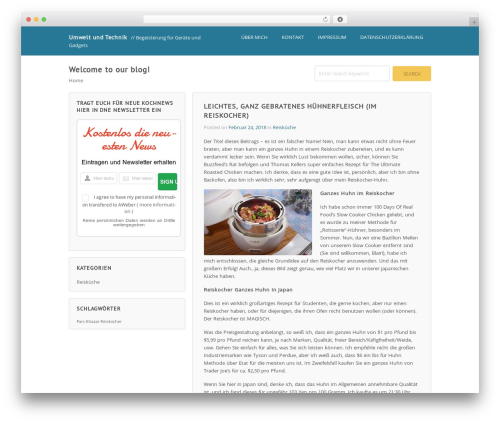 Wordpost WordPress template free download - staun-mv.de