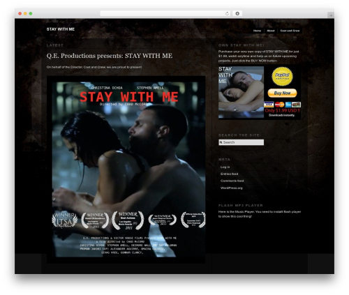 WP template Modularity Lite - staywithmemovie.com