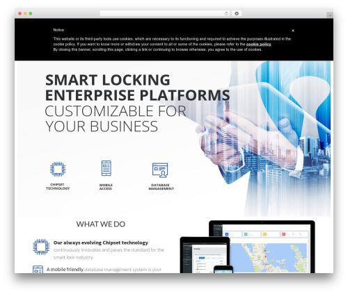 Avada theme WordPress - smartarmortech.com