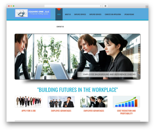 D5 Business Line Extend business WordPress theme - squareonestaffing.us