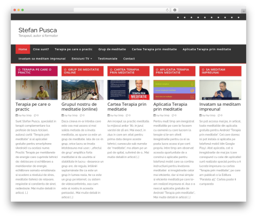 Free WordPress Slick Sitemap plugin - stefan-pusca.ro