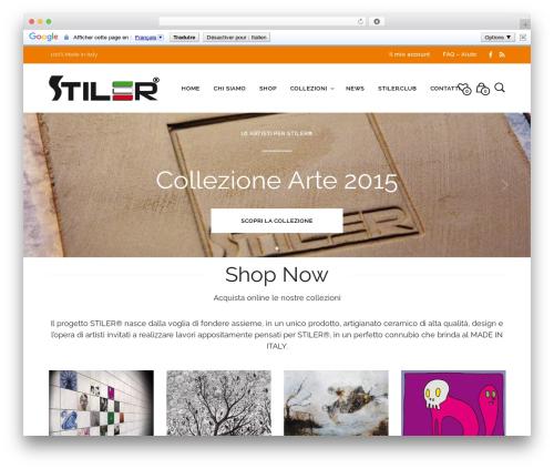 Mr. Tailor (shared on wplocker.com) WordPress theme - stiler.it