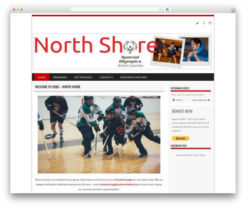 SportyPro theme WordPress - sobcnorthshore.ca