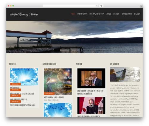 Template WordPress Berliner - solfridgavang.com
