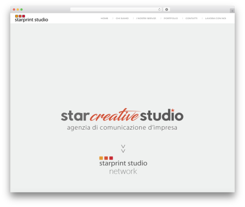 Attractor Theme WordPress theme - starprintstudio.it