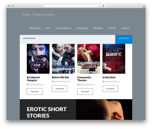 Author Pro WordPress theme - stefanmckinnis.com