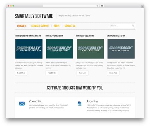 Hannari WordPress theme - smartallysoftware.com