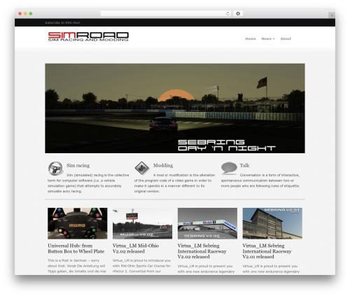 Orion WordPress theme - simroad.net