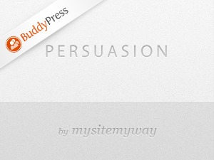 Persuasion BuddyPress WordPress theme