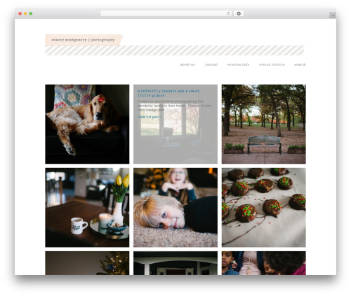 ProPhoto WordPress template for photographers - stacey-montgomery.com
