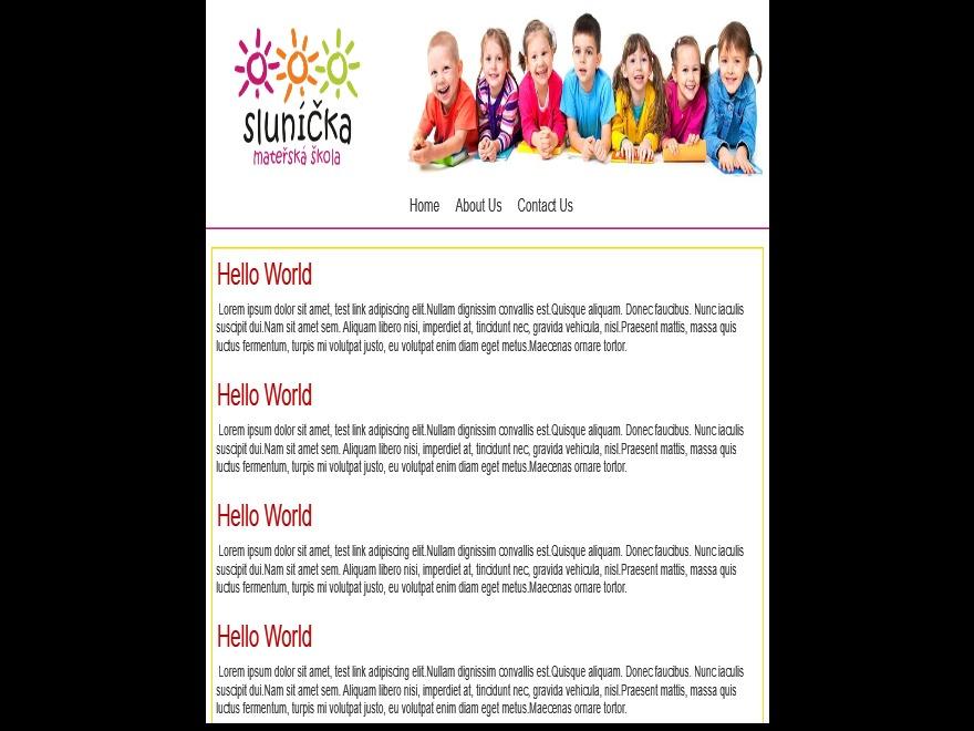 slunicka2017 WordPress theme