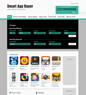 Smart App Buyer WP template
