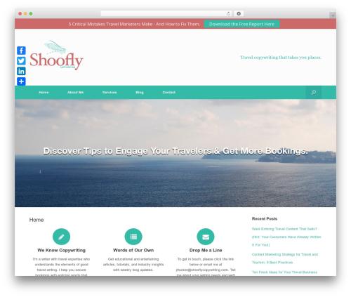 Vantage Premium best free WordPress theme - shooflycopywriting.com