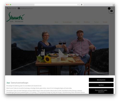 WP template Brasserie - shanti-austria.com