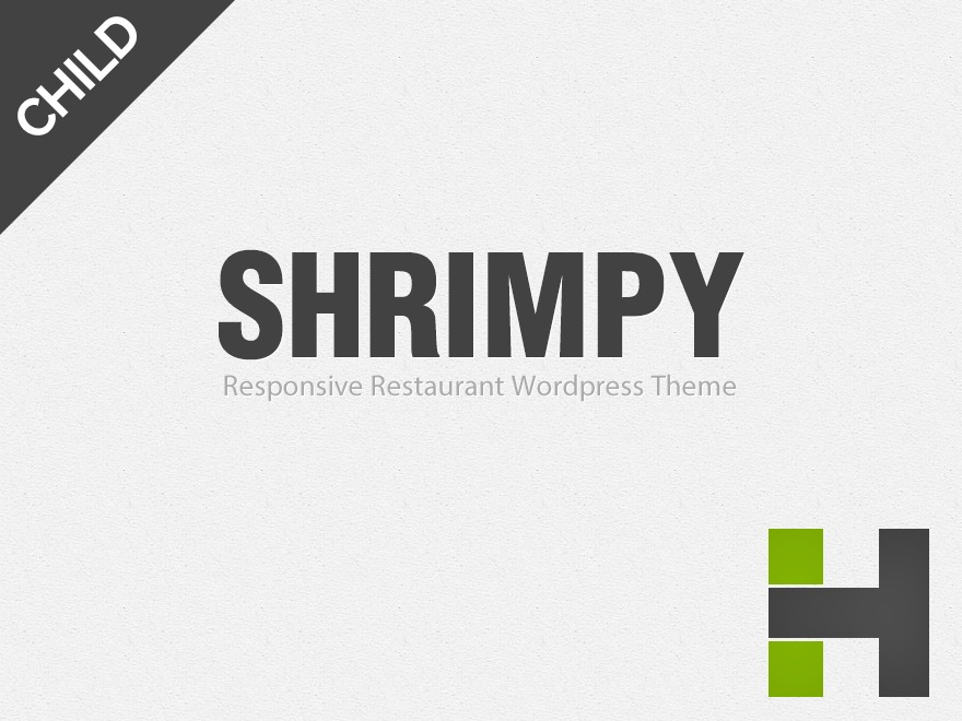 Shrimpy Child best WordPress template