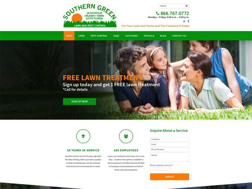 southerngreenusa WordPress theme