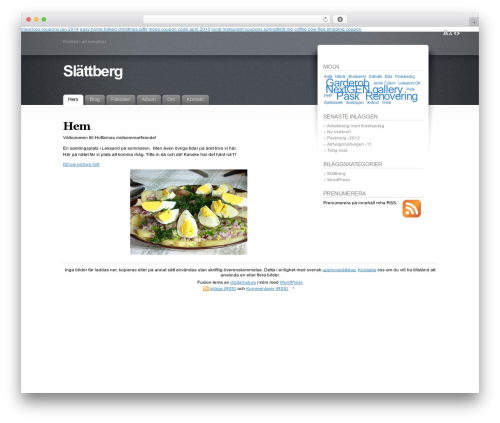 Template WordPress Fusion - slattberg.se