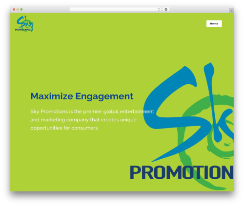 Theme WordPress Bridge - skypromotions.co