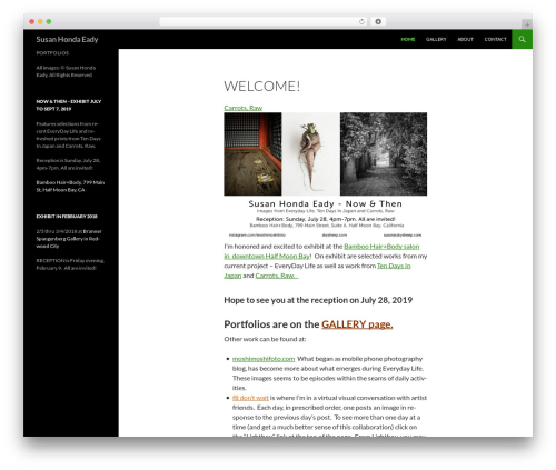 Twenty Fourteen free WordPress theme - skysheep.com
