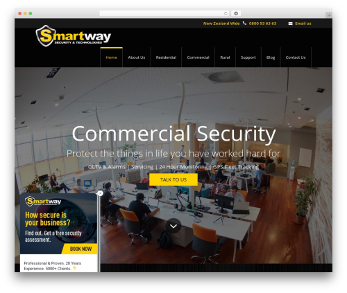 WordPress theme Salamat - smartway.co.nz