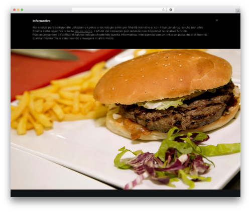 WordPress website template Betheme - squarerestaurant.it