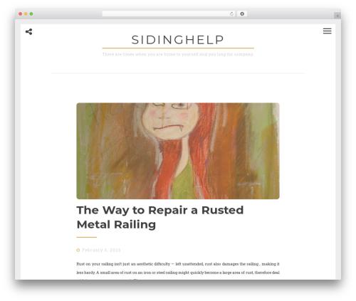 WordPress website template Drento - sidinghelp.net