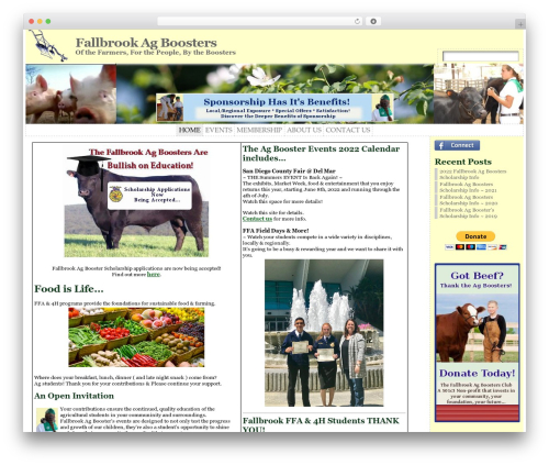 Free WordPress Countdown Timer plugin - fallbrookagboosters.com