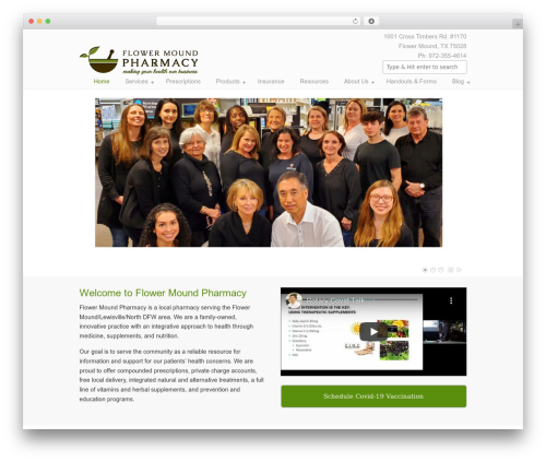 Free WordPress WP-PageNavi plugin - flowermoundpharmacy.com