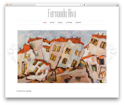 Best WordPress theme Elegant Photography Theme - fernandoriva.it