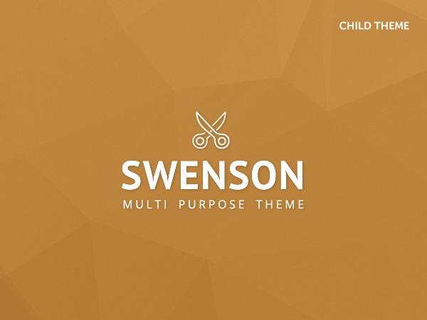Best WordPress theme Swenson Child