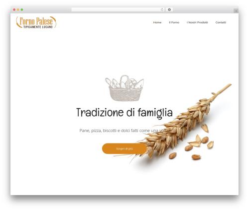 Bridge WordPress template - fornopalese.com