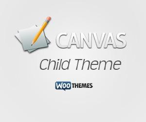 Canvas Child Theme WordPress theme