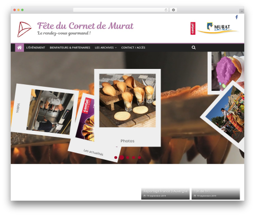 ColorMag free WP theme - fete-cornets-murat.fr