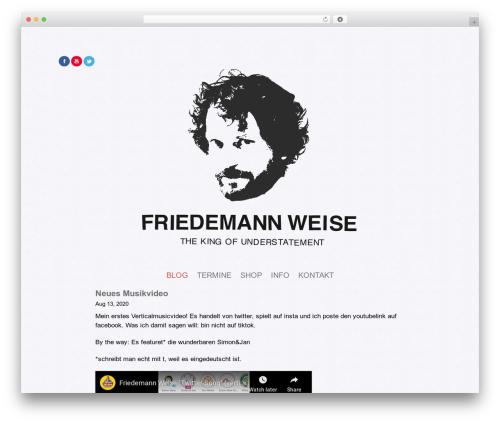 Elemin WP template - friedemannweise.de