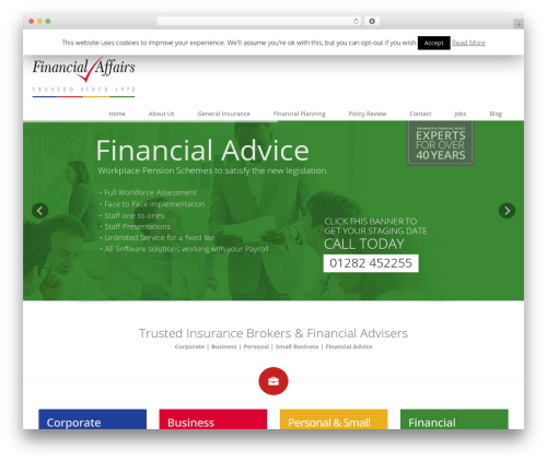 Eross WordPress theme - financialaffairs.co.uk