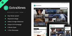 ExtraNews (shared on themelock.com) WordPress news template