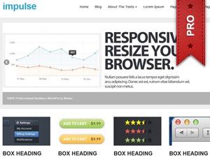 impulsepro company WordPress theme