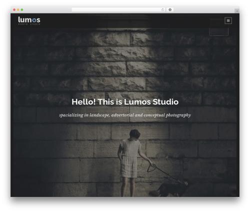Lumos best WordPress theme - fidelmarcus.com