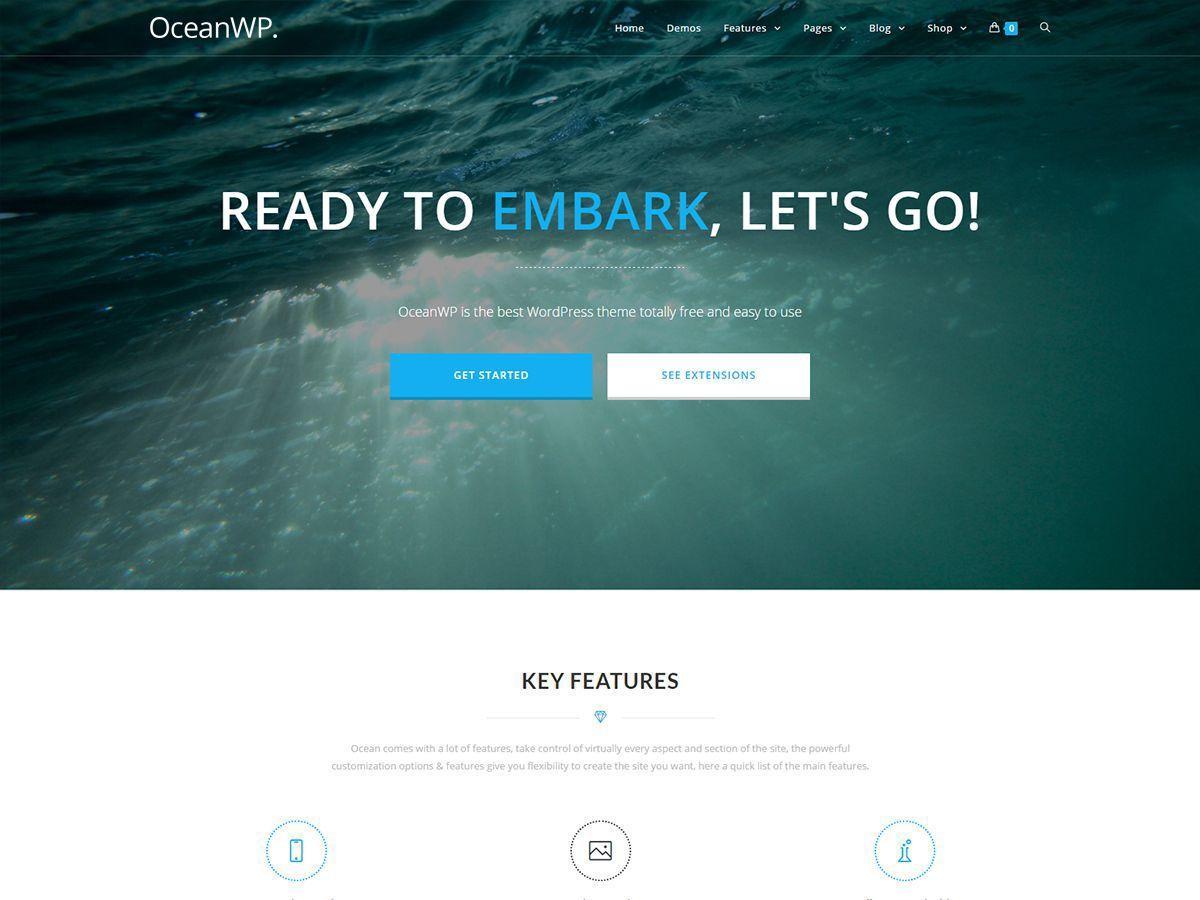 OceanWP Child WordPress theme