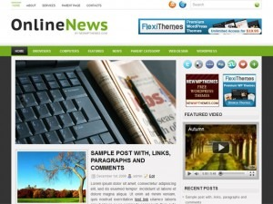OnlineNews best WordPress magazine theme