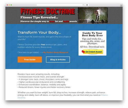 Free WordPress vooPlayer v4 plugin - fitnessdoctrine.com