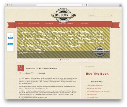 RetroPress theme WordPress - fallingdownfunny.com