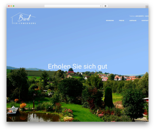WordPress arforms plugin - ferienwohnung-bierl.de