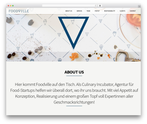 South Central food WordPress theme - foodville.at