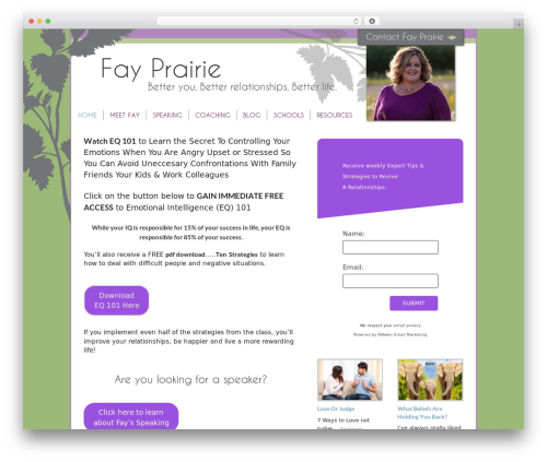 Free WordPress Quotes Collection plugin - fayprairie.com