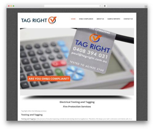 Theme WordPress Whisper - tagright.com.au