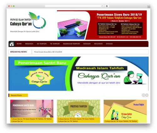 Top Mag free website theme - tahfizh-quran.com