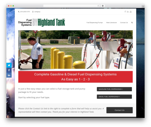 Total free website theme - fueldispensingsystems.com