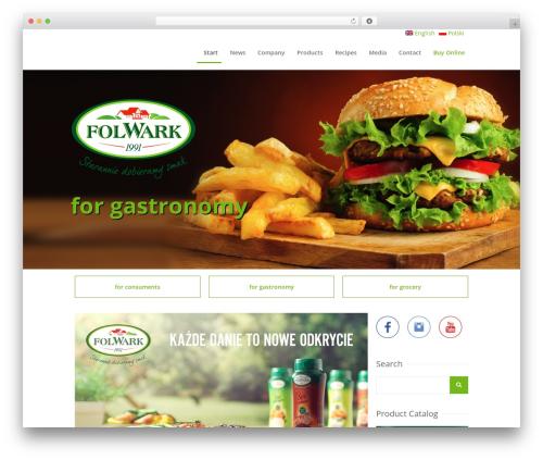 WordPress template Chow - folwark.com.pl