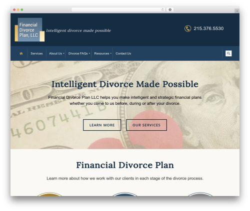 Free WordPress WassUp Real Time Analytics plugin - financialdivorceplan.com